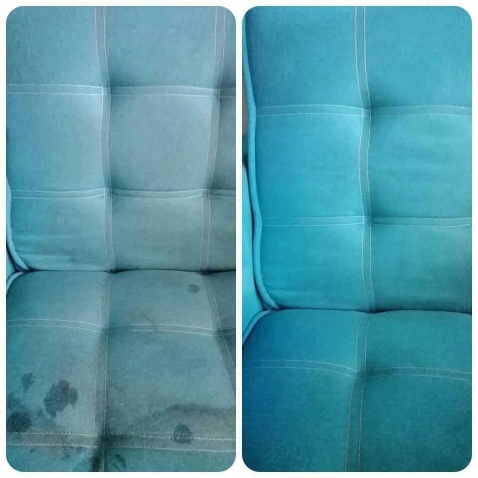 Cuci Sofa Kepam Guna Produk Pencuci RM 3 Ni Je, Lihat Hasilnya 6
