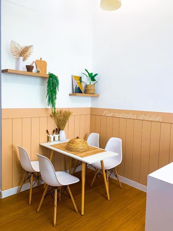 """Kuasa """"Wallpaper"""", Tak Perlu Kerja-Kerja Pecah Jubin Untuk Ubahsuai Dapur 15"""