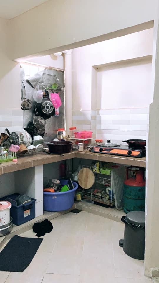 Tambah Langsir Dengan Rak Bajet, Terus Dapur Ni Nampak Cantik Dan Kemas 4
