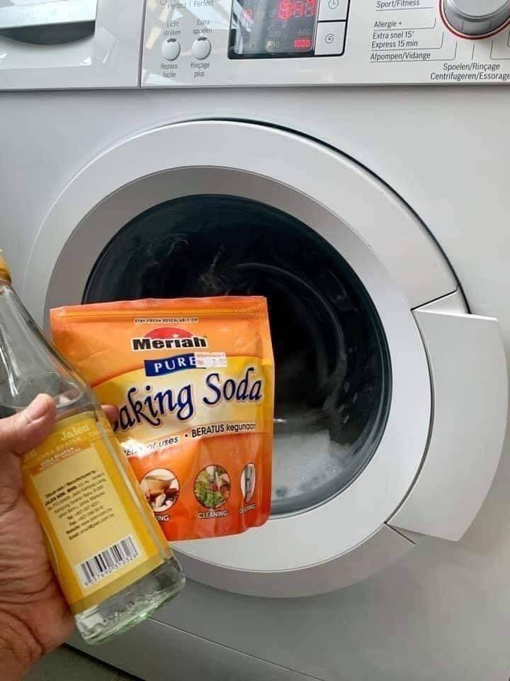 Super Daddy Ini Kongsikan Cara Mudah & Jimat Cuci Mesin Basuh Agar Berkilat Dan Wangi 2