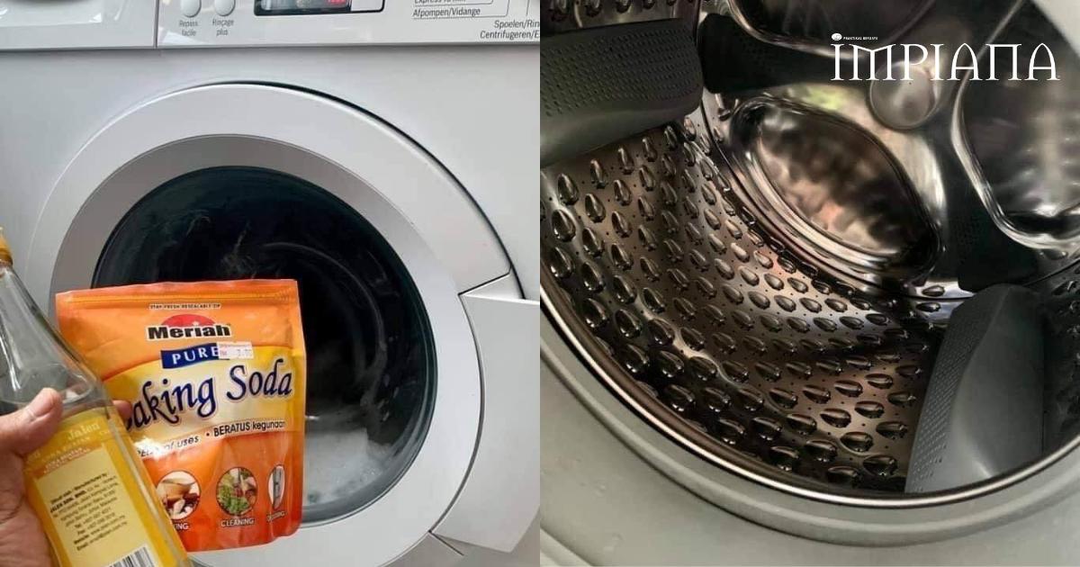 Super Daddy Ini Kongsikan Cara Mudah & Jimat Cuci Mesin Basuh Agar Berkilat Dan Wangi