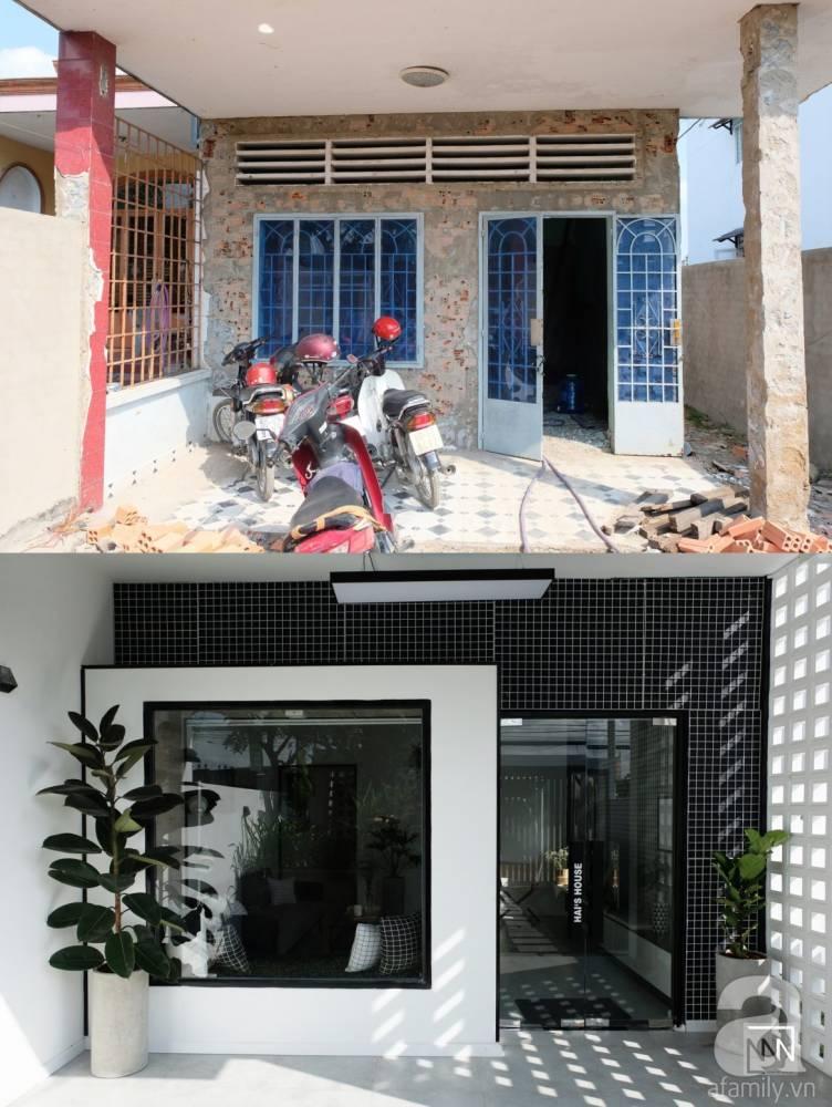 Hitam Putih Jadi Pilihan Transfomasi Rumah Lama Bien Hoa, Vietnam 2