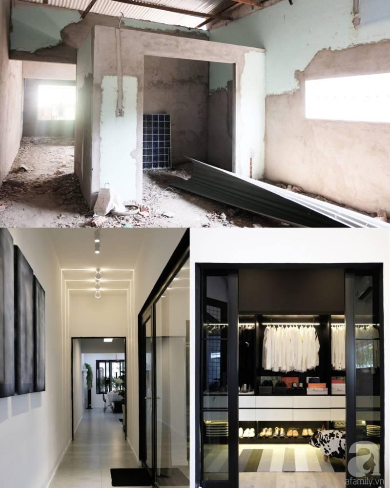 Hitam Putih Jadi Pilihan Transfomasi Rumah Lama Bien Hoa, Vietnam 3