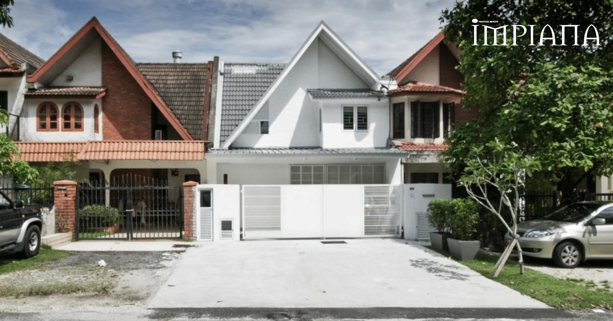 Wajah Baru! Rumah Teres Lama Dengan Vertical Garden Di Subang Jaya
