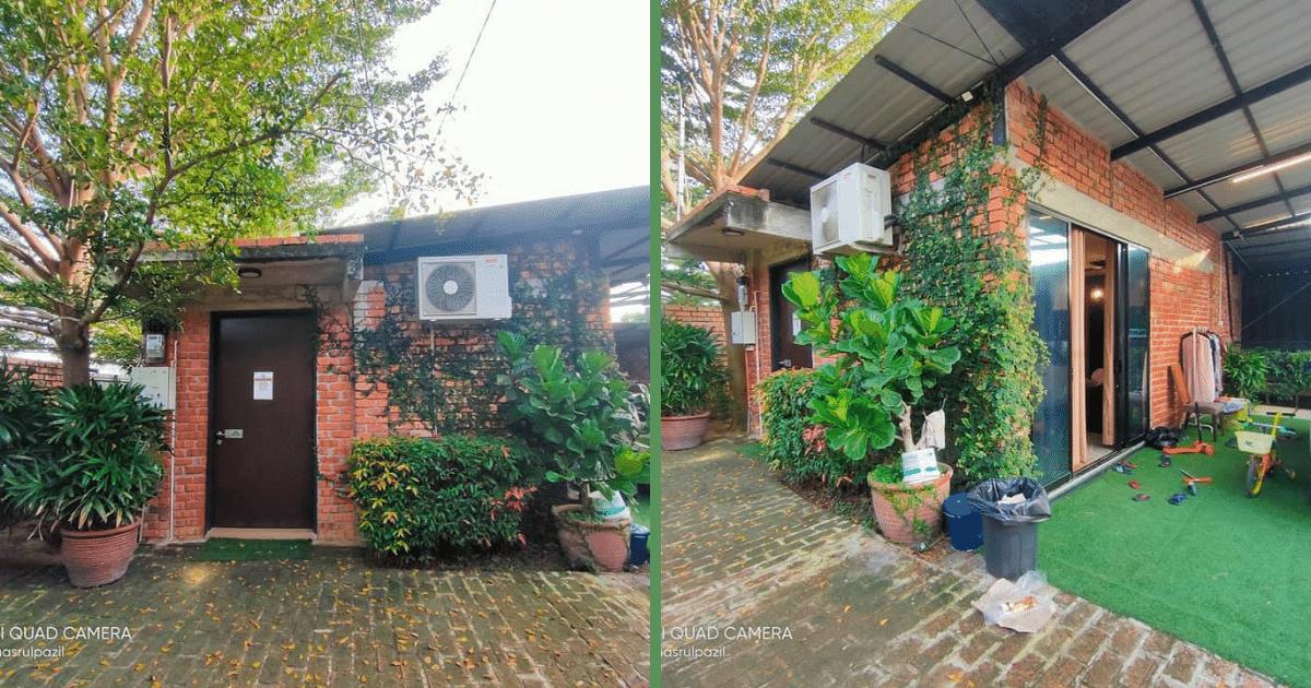 Rumah Kecil 'Tiny House' Di Kepala Batas Pulau Pinang Curi Perhatian