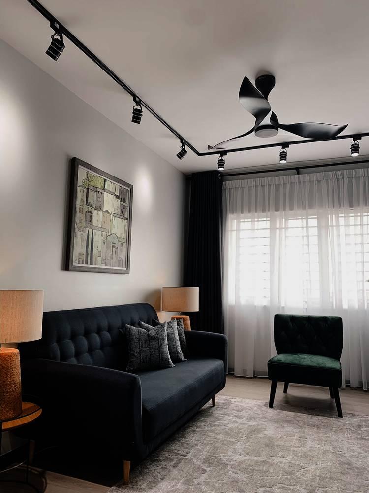 Konsep Minimalis Dengan Pilihan 'Emerald Green' Jadi Pilihan Untuk Apartmen Ini 18