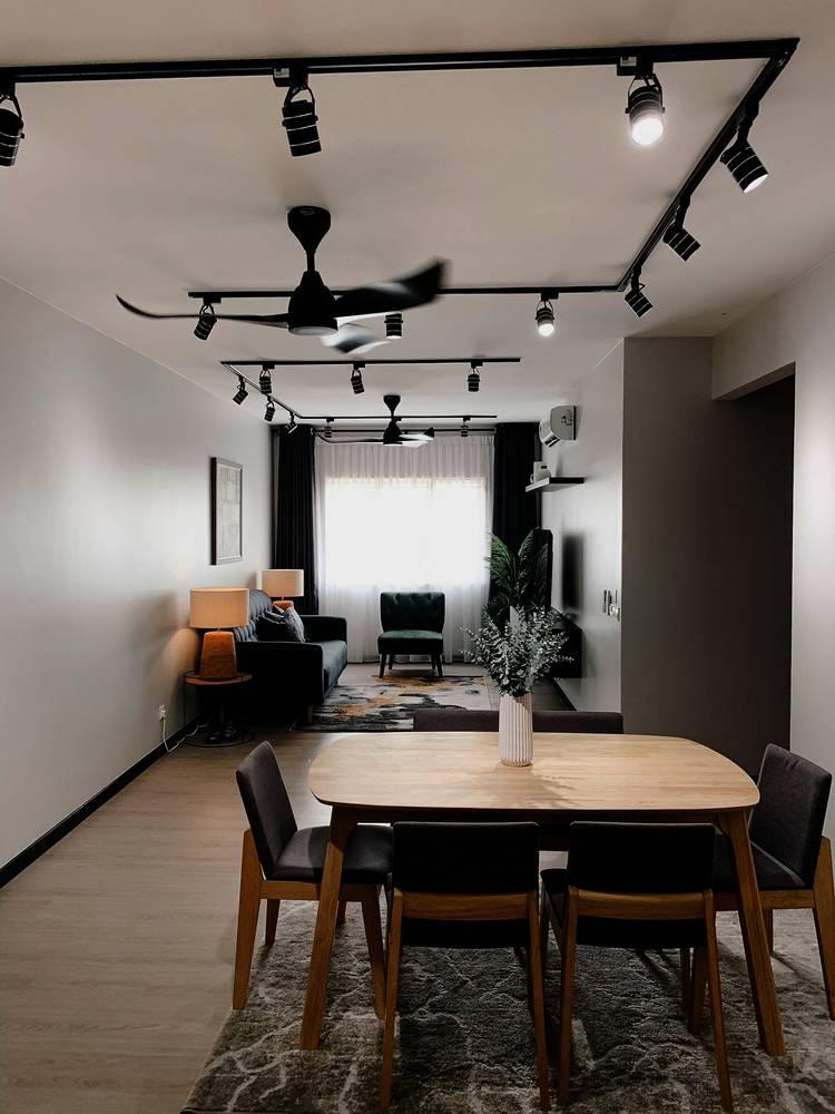 Konsep Minimalis Dengan Pilihan 'Emerald Green' Jadi Pilihan Untuk Apartmen Ini 16