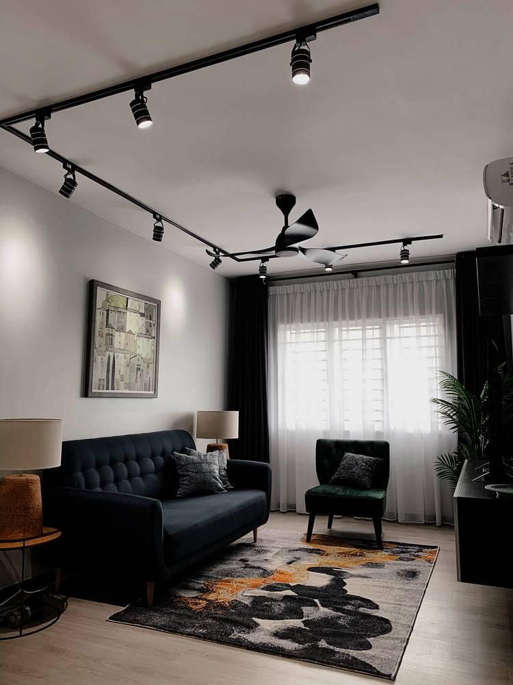 Konsep Minimalis Dengan Pilihan 'Emerald Green' Jadi Pilihan Untuk Apartmen Ini 12