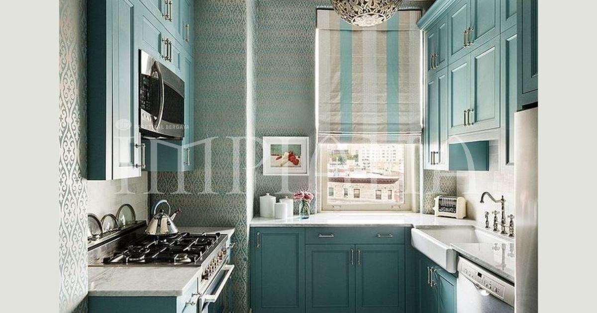 Idea Rekaan Dapur Sempit Untuk Ruang Dapur Kondo
