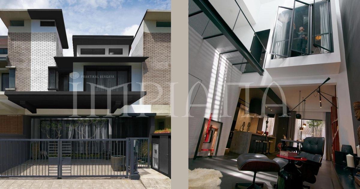 'Home Made For 2' Rumah Dengan Sentuhan Elegan