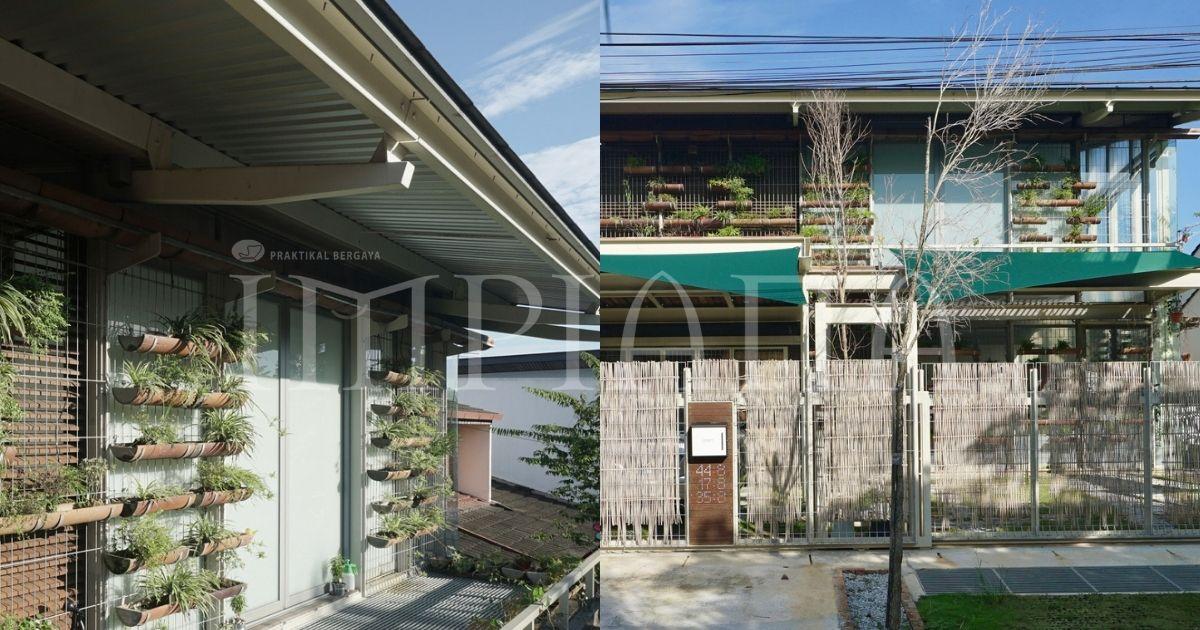 Rekaan 'Wabi-Sabi' Ini Mengekalkan Kelestarian Dalam Sturktur Rekaan Rumah Ini