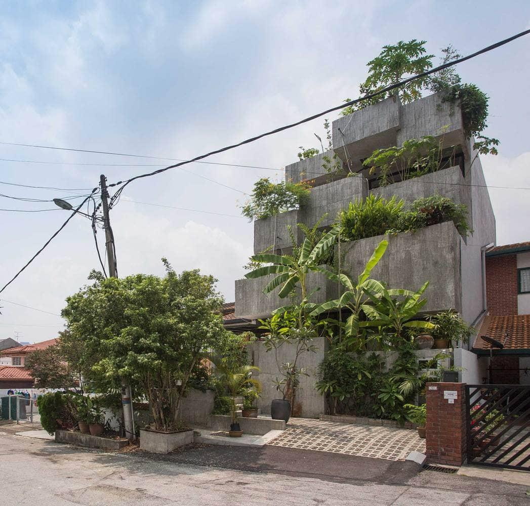 Rumah 'Planter Box' Di Reka Penuh Gaya Hidup Pemilik 6