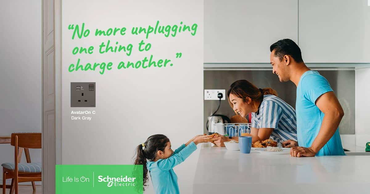 Betul Ke! Tanpa Schneider Electric Dalam Kediaman Tiada Serinya 4