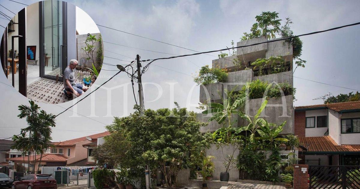Rumah 'Planter Box' Di Reka Penuh Gaya Hidup Pemilik