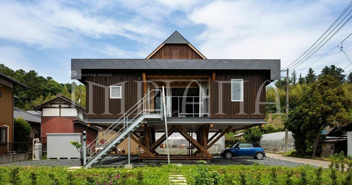Rumah Tiang Mempunyai Struktur Sesuai Untuk Musim Banjir