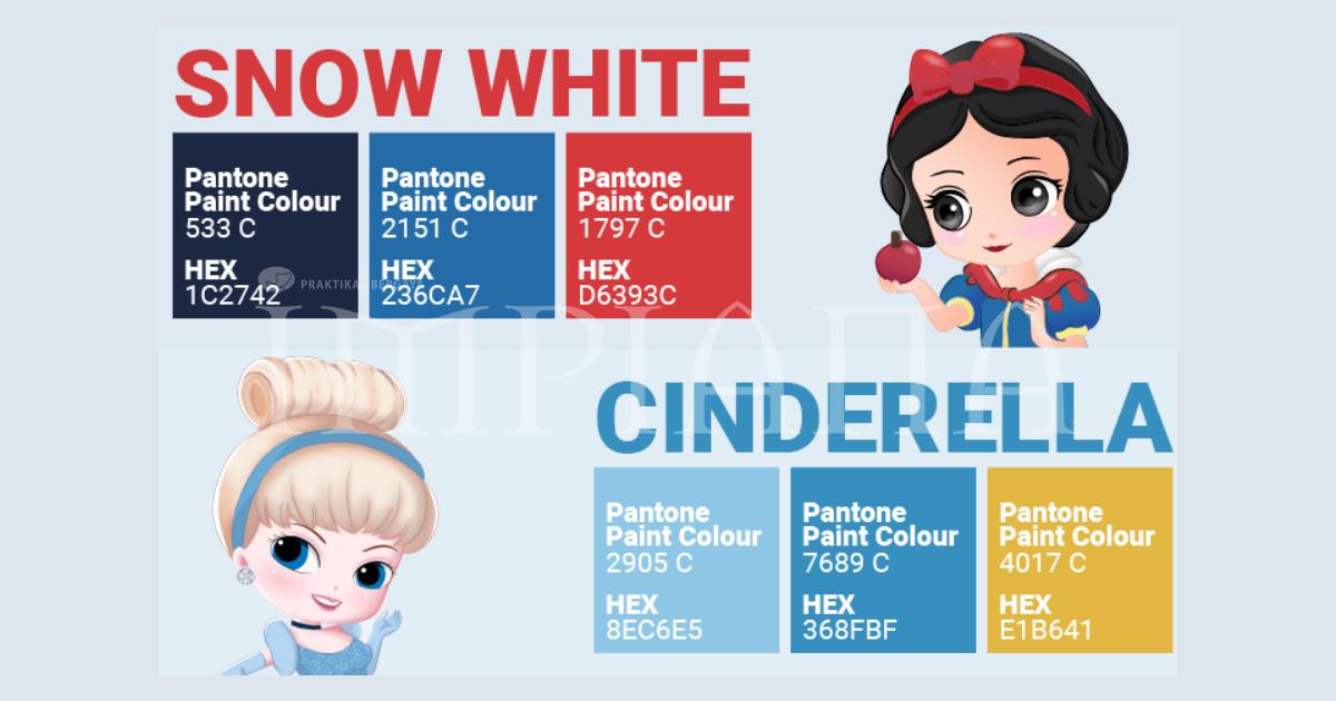 Palet Warna Diilhamkan oleh Disney Princesses, Pasti Ramai Yang Menginginkannya