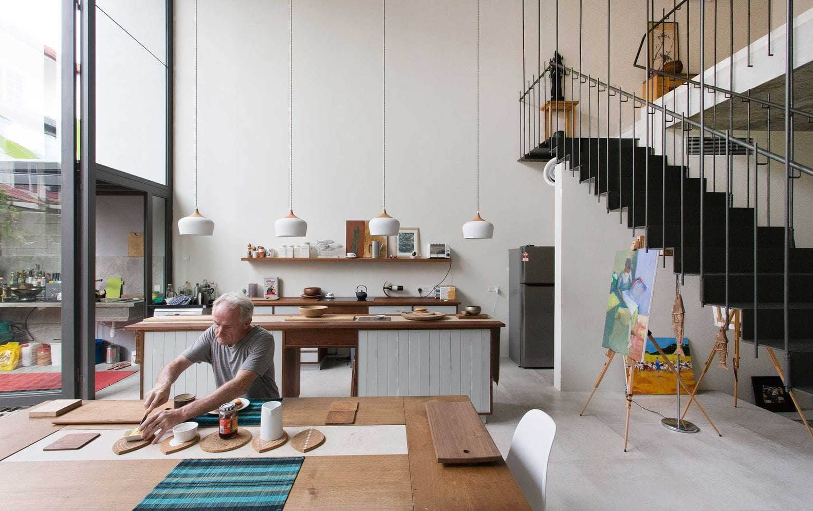 Rumah 'Planter Box' Di Reka Penuh Gaya Hidup Pemilik 16