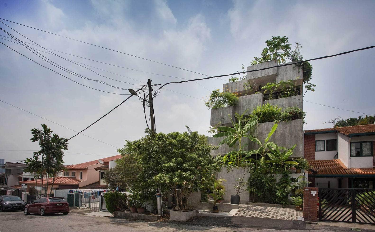 Rumah 'Planter Box' Di Reka Penuh Gaya Hidup Pemilik 8