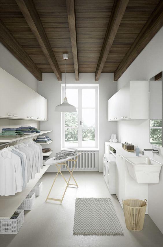 10 Idea Laundry Room Ini Bakal Buat Kediaman Anda Lebih Kemas Dan Teratur 20