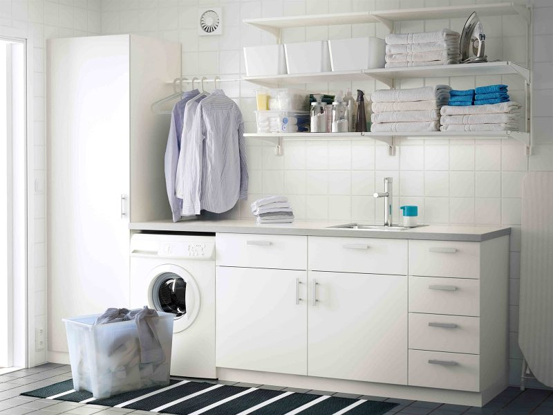 10 Idea Laundry Room Ini Bakal Buat Kediaman Anda Lebih Kemas Dan Teratur 14