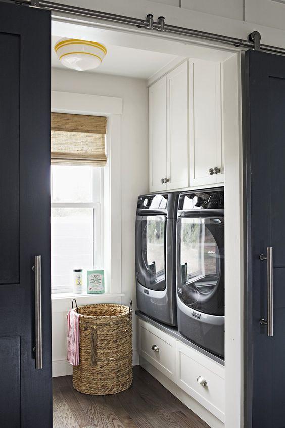 10 Idea Laundry Room Ini Bakal Buat Kediaman Anda Lebih Kemas Dan Teratur 8