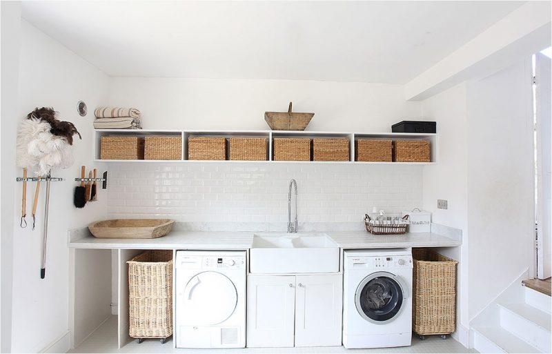 10 Idea Laundry Room Ini Bakal Buat Kediaman Anda Lebih Kemas Dan Teratur 16
