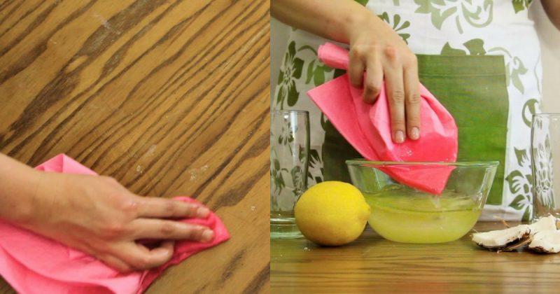 Guna 2 Bahan Dapur Ini Untuk Polish Perabot Kayu Dengan Mudah