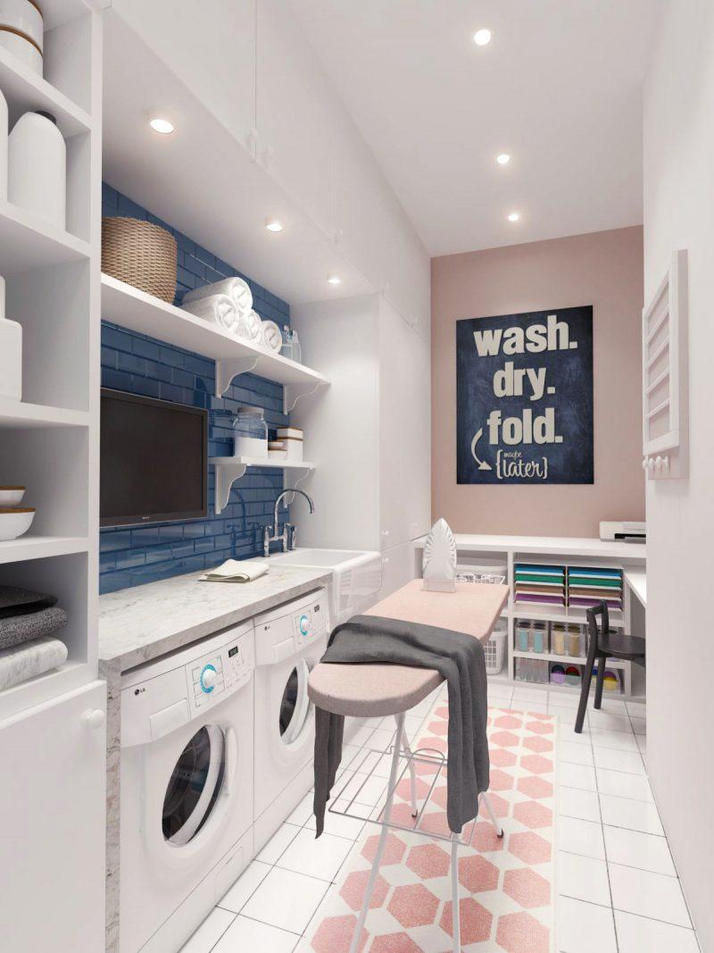 10 Idea Laundry Room Ini Bakal Buat Kediaman Anda Lebih Kemas Dan Teratur 18