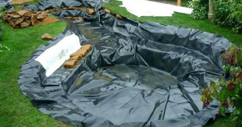 Ini Cara Mudah Dan Murah Bina Kolam Kecil Hanya Guna Pond Liner