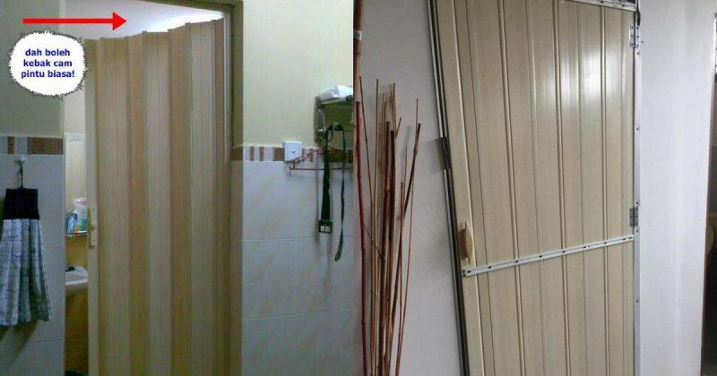 Pintu Lipat Rosak, Ini Penyelesaian Cepat Yang Menjimatkan Duit Anda