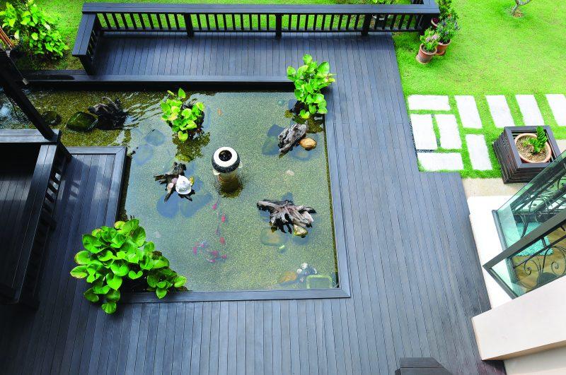 (GAMBAR) Bina Kolam Dengan Kedalaman 2 Kaki Menggunakan Pond Liner Hasilnya Lebih Menarik 28