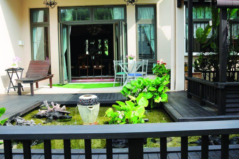(GAMBAR) Bina Kolam Dengan Kedalaman 2 Kaki Menggunakan Pond Liner Hasilnya Lebih Menarik 22