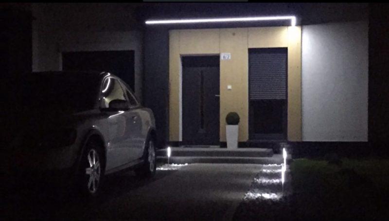 (VIDEO) Buat Sendiri Lampu Taman Dari Cable Raceways dan LED Stripe Modal Tak Sampai RM 5 Seunit 36