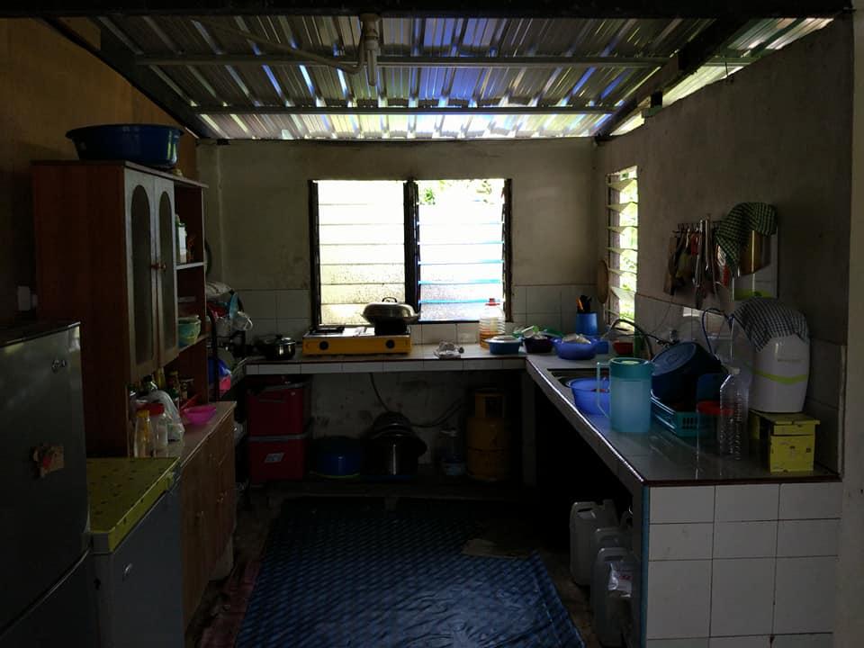 Bina Dapur Kampung Ni Nampak