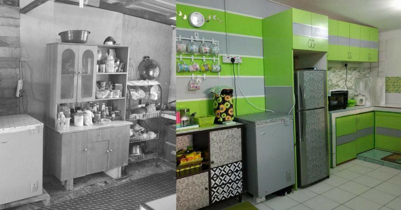 Perlahan Lahan Kayuh 2 Bulan Untuk Bina Dapur Kampung Ni Nampak Cantik Impiana