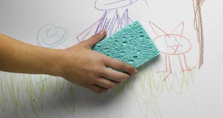 6 Bahan Mudah Untuk Hilangkan Conteng Dan Kotoran Di Dinding 5
