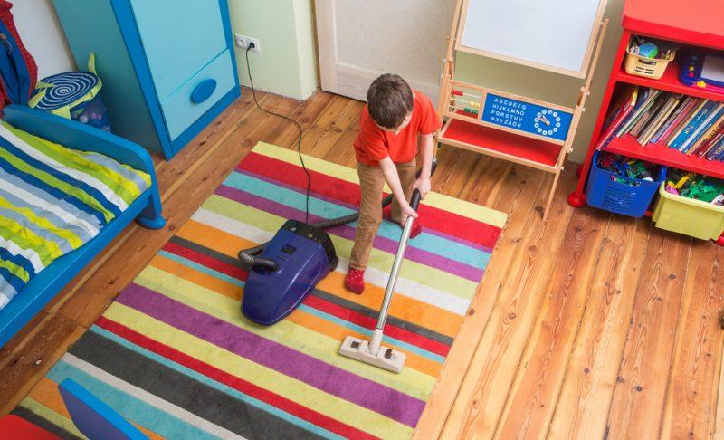 Galn Anak Anda Untuk Mengemas Bilik