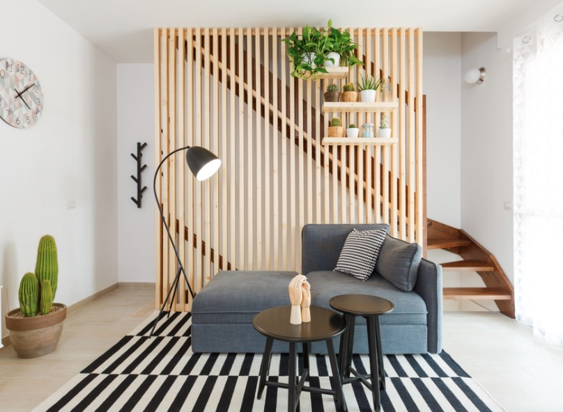 10 Idea Pembahagi Ruang Yang Praktikal Untuk Kediaman Kecil 5