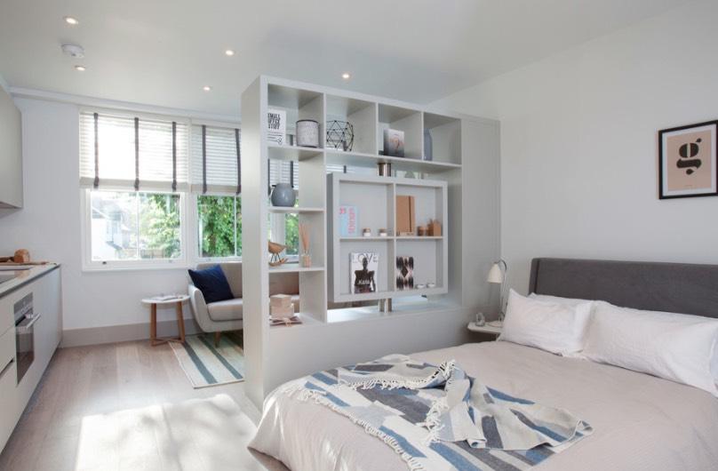 10 Idea Pembahagi Ruang Yang Praktikal Untuk Kediaman Kecil 6