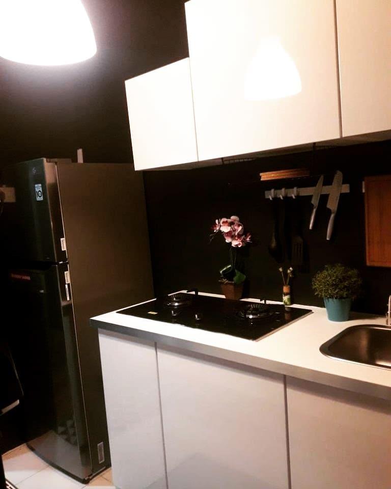 Makeover Dapur Rumah Flat 105sqft Cantik Dan Kemas Impiana