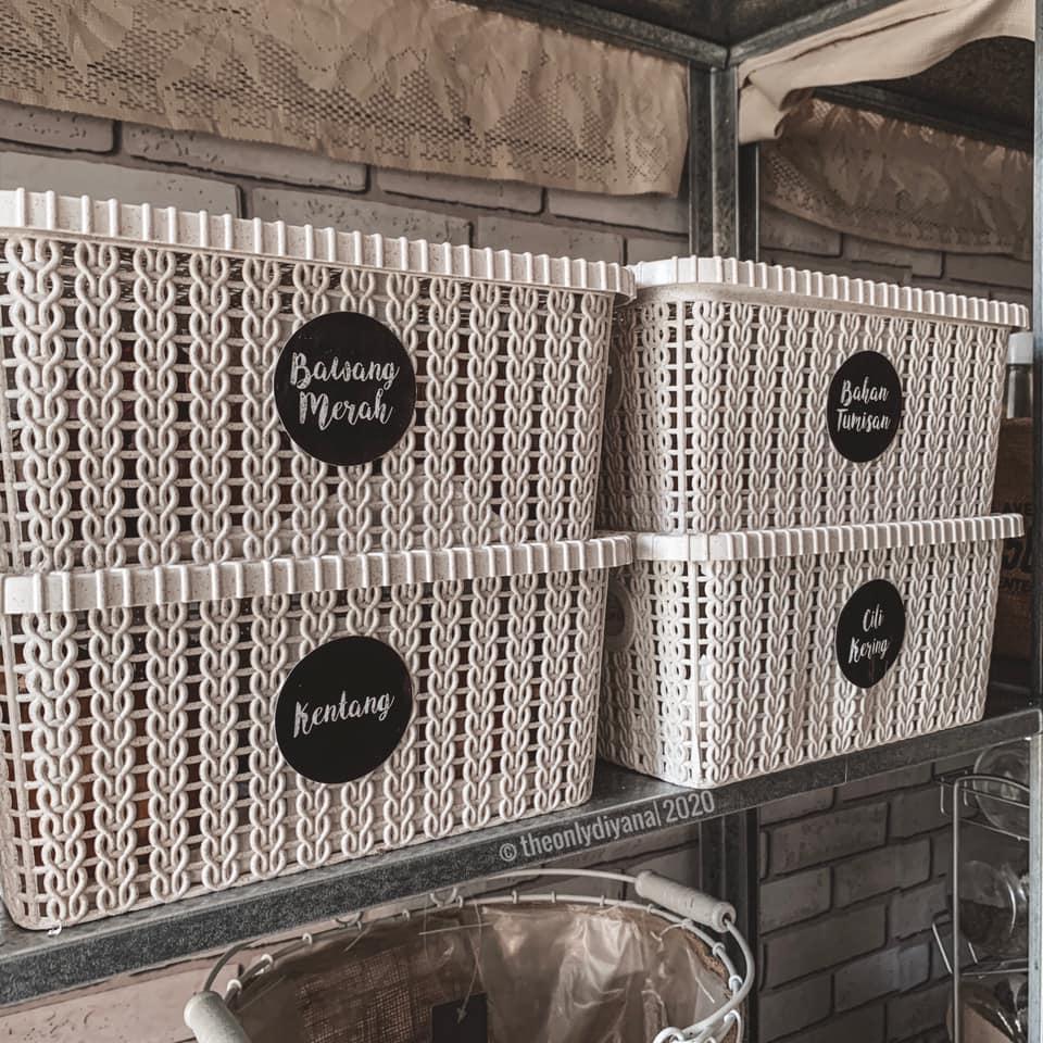 Hanya Gunakan Barangan Bajet, Dapur Dengan Konsep 'Farmhouse' Tampil Sempurna Walau Tanpa Kabinet 15
