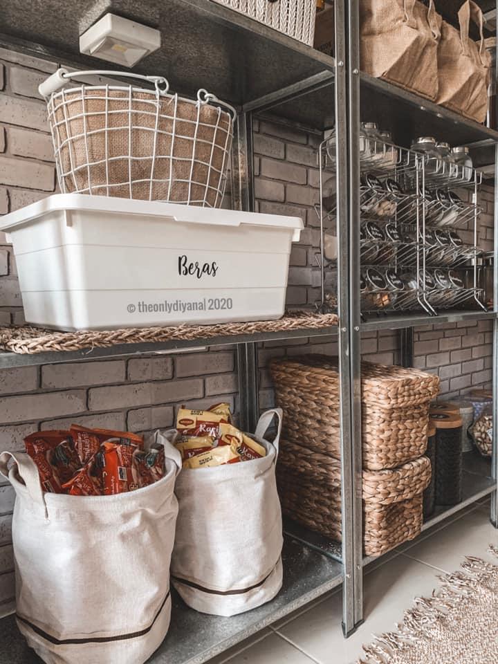 Hanya Gunakan Barangan Bajet, Dapur Dengan Konsep 'Farmhouse' Tampil Sempurna Walau Tanpa Kabinet 18