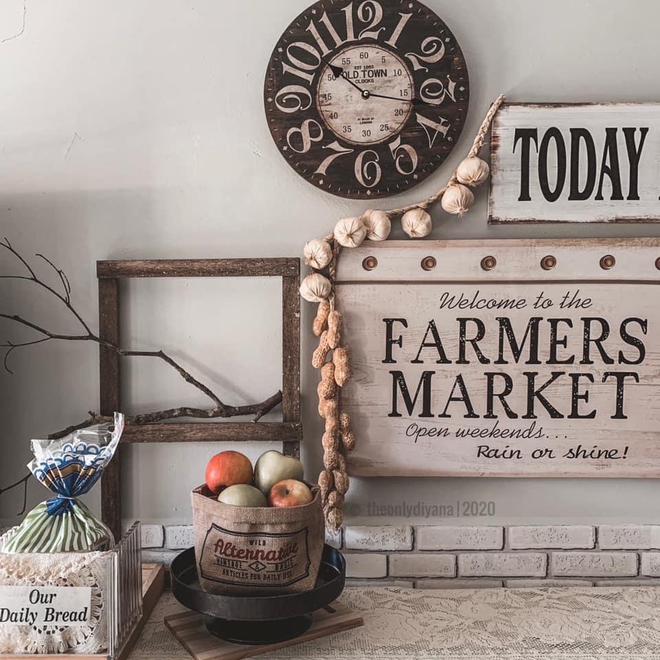 Hanya Gunakan Barangan Bajet, Dapur Dengan Konsep 'Farmhouse' Tampil Sempurna Walau Tanpa Kabinet 9