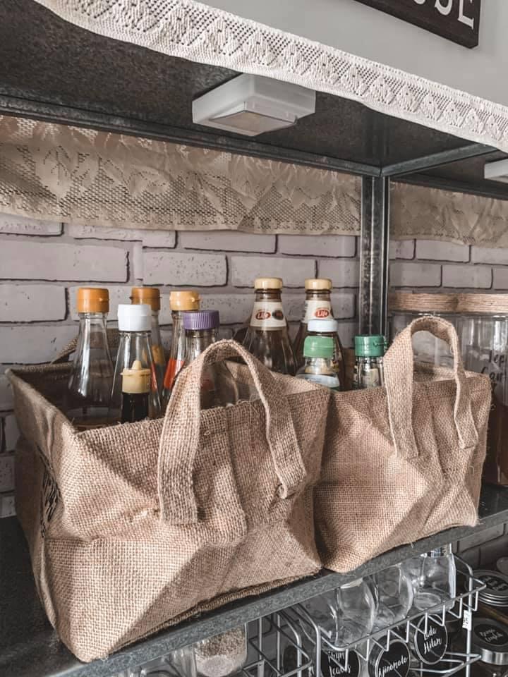 Hanya Gunakan Barangan Bajet, Dapur Dengan Konsep 'Farmhouse' Tampil Sempurna Walau Tanpa Kabinet 19