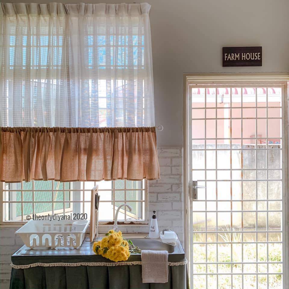 Hanya Gunakan Barangan Bajet, Dapur Dengan Konsep 'Farmhouse' Tampil Sempurna Walau Tanpa Kabinet 22