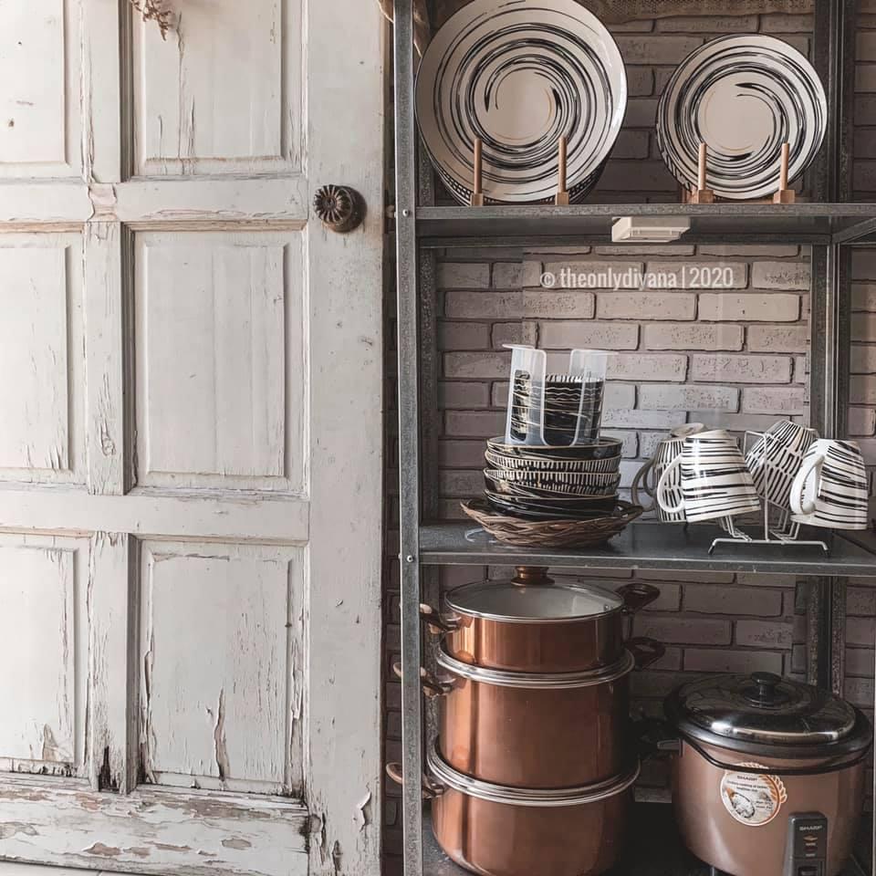 Hanya Gunakan Barangan Bajet, Dapur Dengan Konsep 'Farmhouse' Tampil Sempurna Walau Tanpa Kabinet 20
