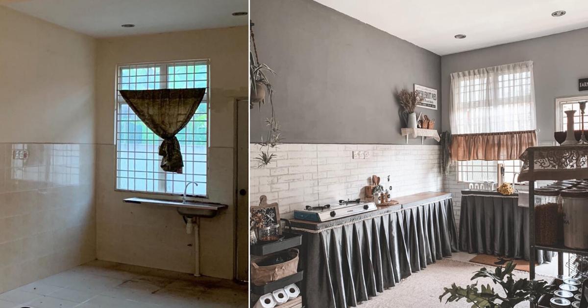 Dapur Tetap Tampak Sempurna Walupun Tidak Dilengkapi Kabinet Dan Kaunter Top Hebat Impiana
