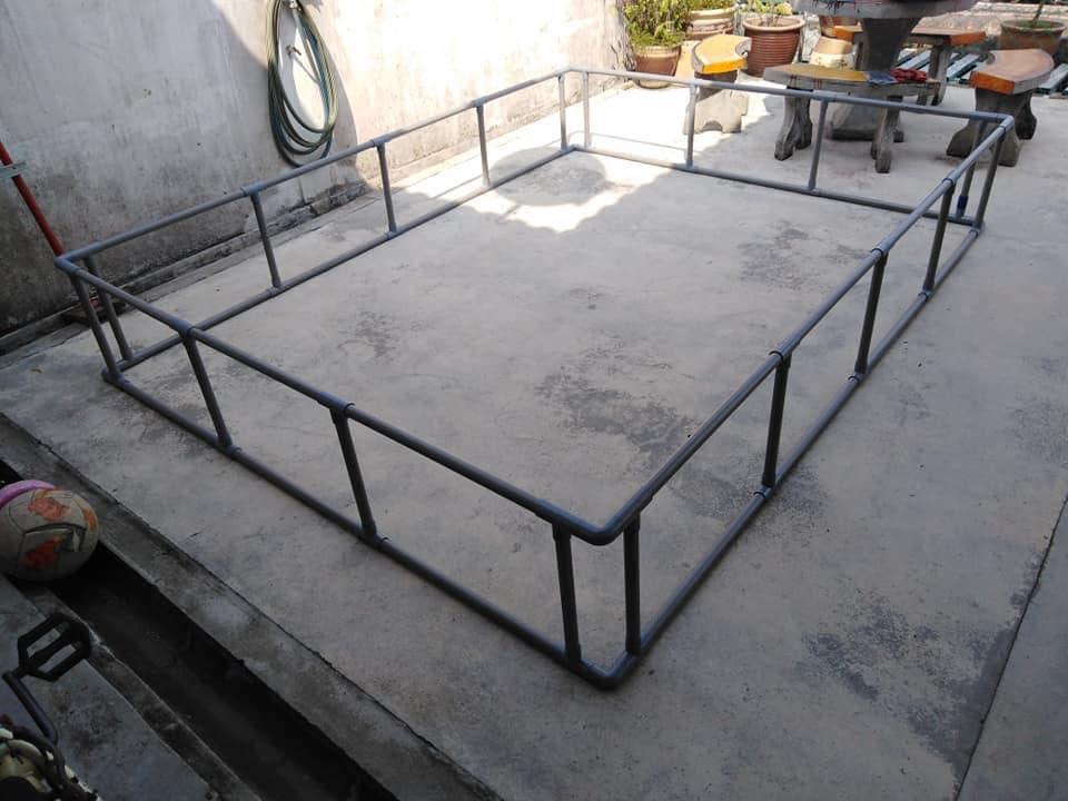 Ini Cara Mudah DIY Kolam Renang Guna PVC Dan Kanvas, Mudah Dan Jimat! 3