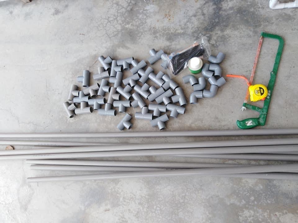Ini Cara Mudah DIY Kolam Renang Guna PVC Dan Kanvas, Mudah Dan Jimat! 2