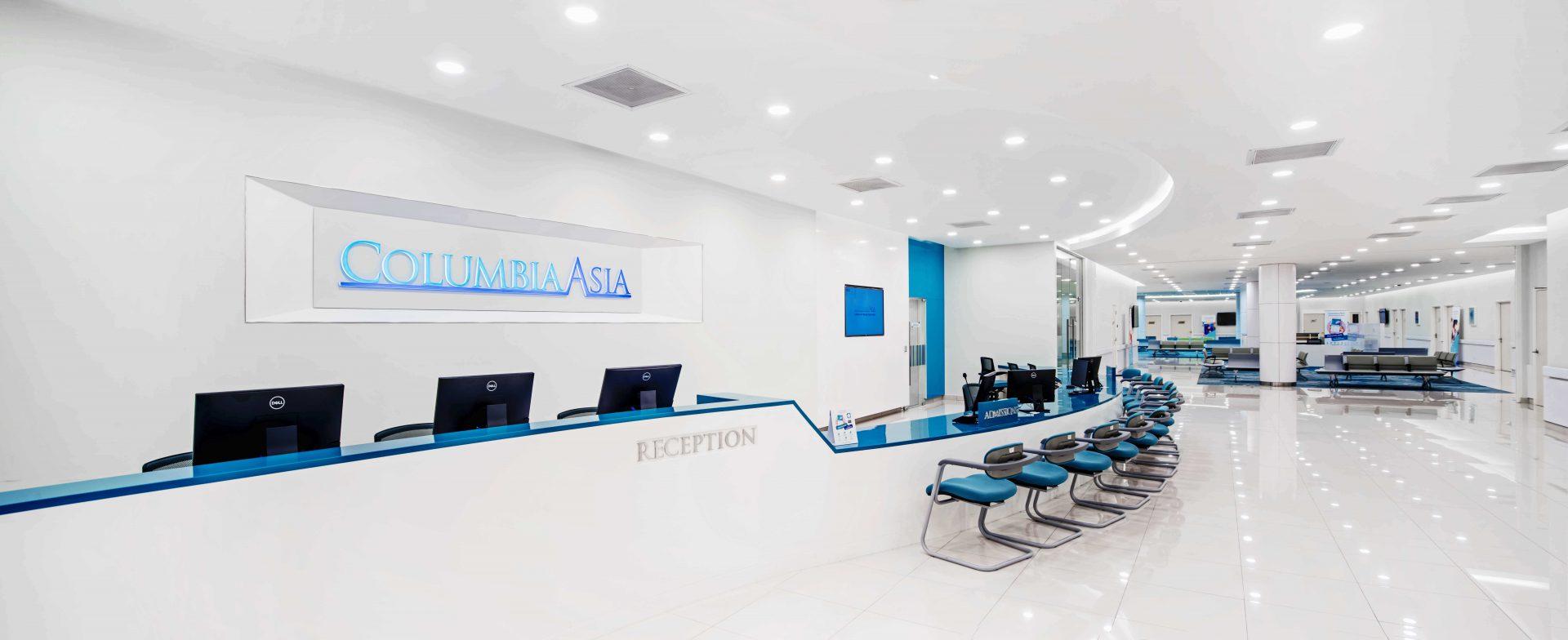 Syukur, Hospital Columbia Asia terbesar di Malaysia Telah di Tebrau 3